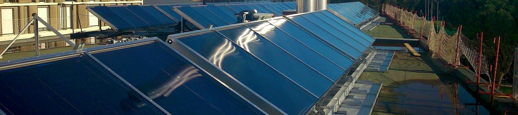Réseaux de chaleur solaire